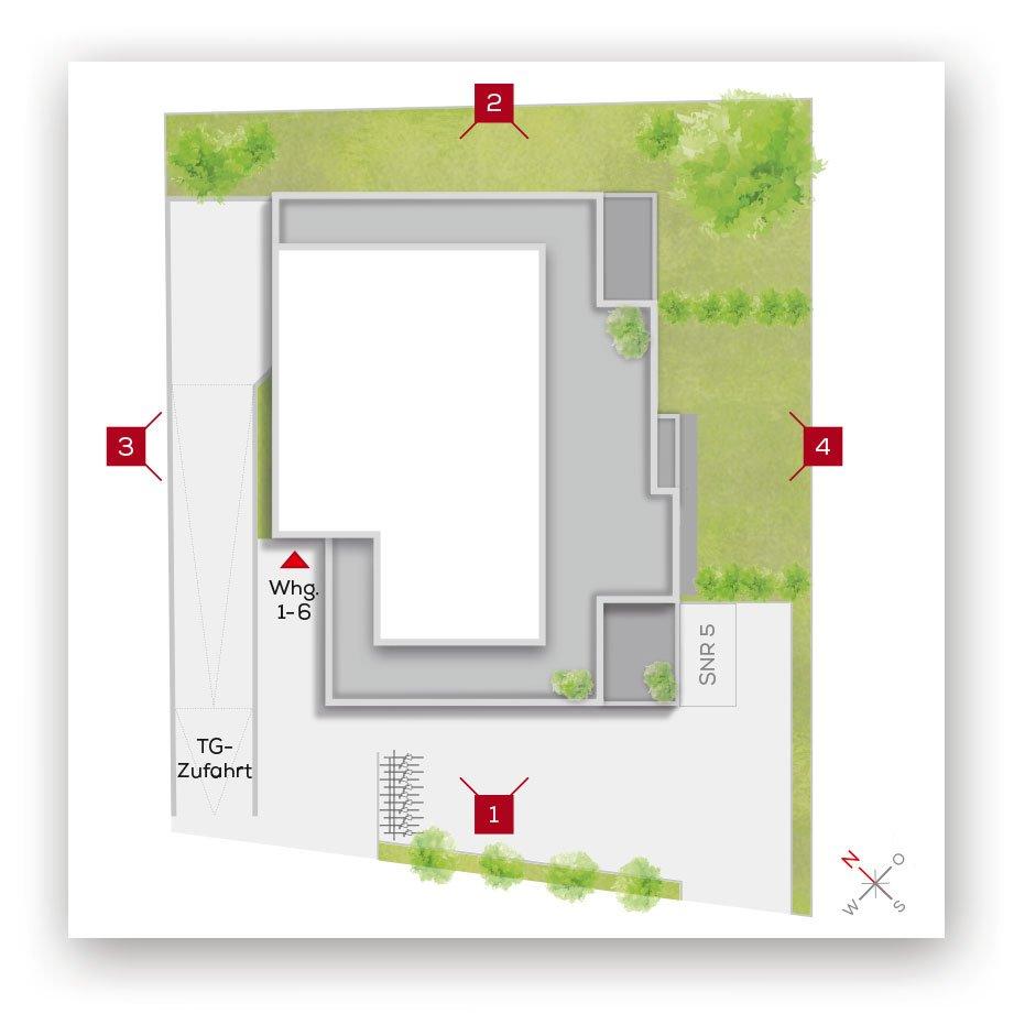 Grundriss | Frankenresidenz Kotzenhof | Frankenresidenz