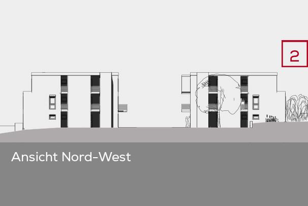 Gebäudeansicht Nord-West | Frankenresidenz Entensee | Frankenresidenz