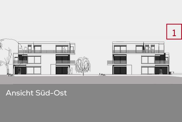 Gebäudeansicht Süd-Ost | Frankenresidenz Entensee | Frankenresidenz