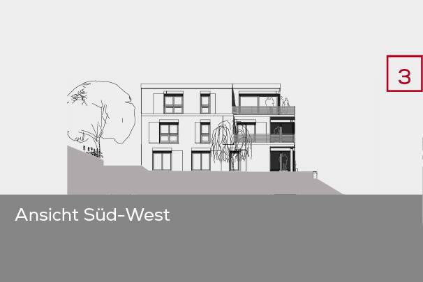 Gebäudeansicht Süd-West | Frankenresidenz Entensee | Frankenresidenz