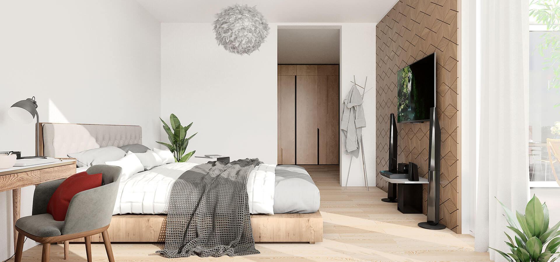 Beispielansicht Schlafzimmer | Frankenresidenz Entensee | Frankenresidenz