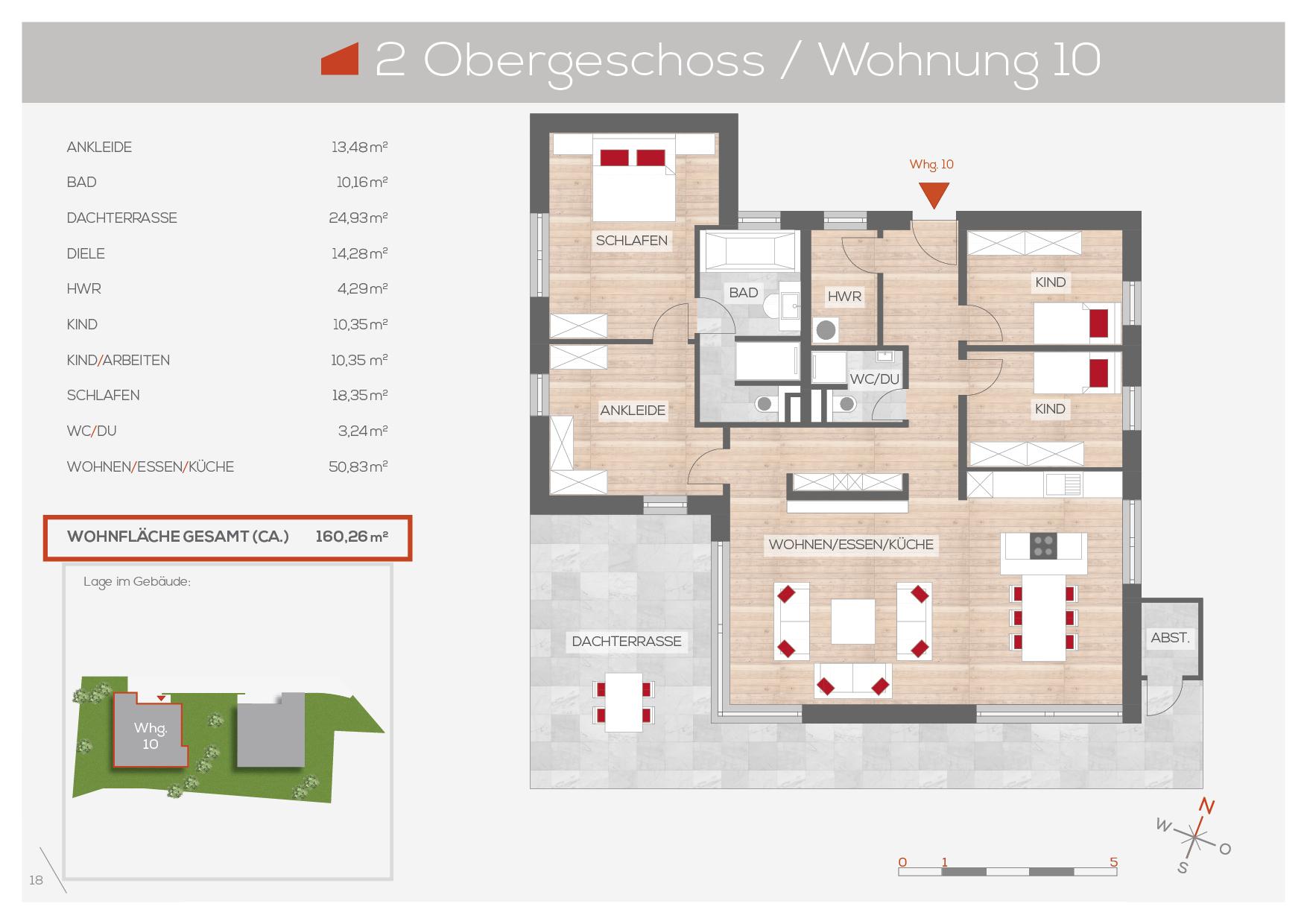 Grundriss Wohnung 10, 2. OG | Frankenresidenz Entensee | Frankenresidenz